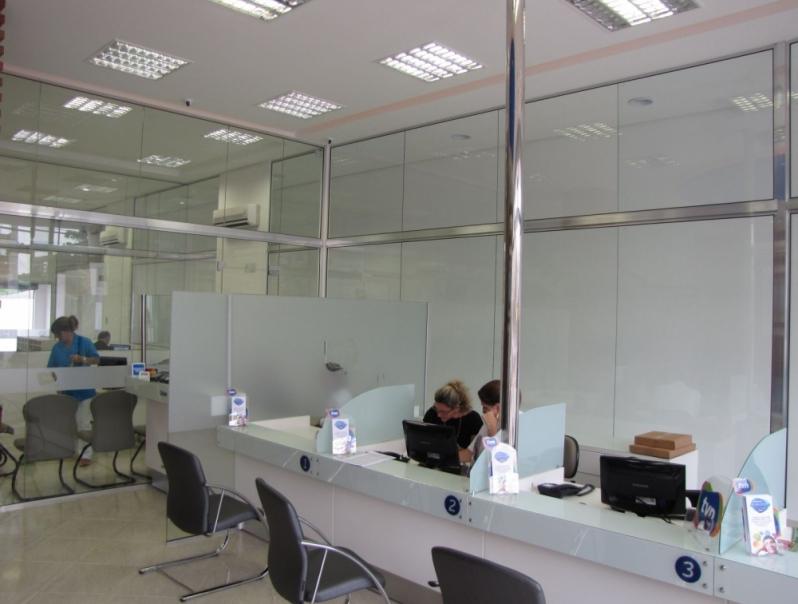Divisoria de Escritório Alto Padrão Valor Alto da Boa Vista - Divisoria para Escritórios