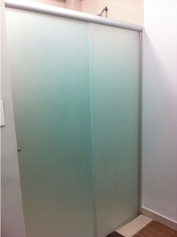 Divisoria de Vidro Temperado para Banheiro á Venda São Sebastião - Divisoria em Vidro Temperado para Casas