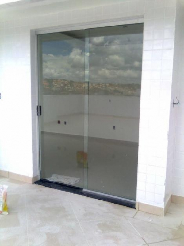 Divisoria em Vidro Temperado para Casas Granja Julieta - Divisoria Vidros Temperados