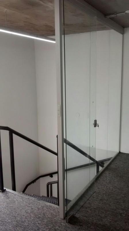 Divisoria em Vidro Temperado para Residências á Venda Chácara Santo Antônio - Divisoria em Vidro Temperado