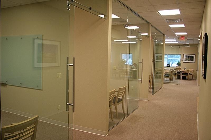 Divisoria para Escritório em Alumínio e Vidro Interlagos - Divisoria para Escritórios