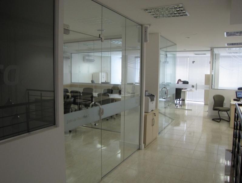 Divisorias de Escritório Alto Padrão Alto da Boa Vista - Divisoria para Escritórios