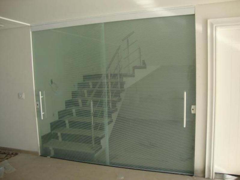 Divisorias em Vidro Temperado para Casas Vila Progredior - Divisoria Vidro Temperado