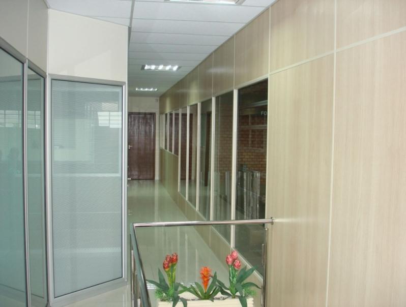 Divisorias Mdf Escritório Pirituba - Divisoria de Ambiente Mdf
