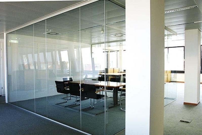 Divisorias para Escritório em Alumínio e Vidro Caieiras - Divisoria para Escritórios