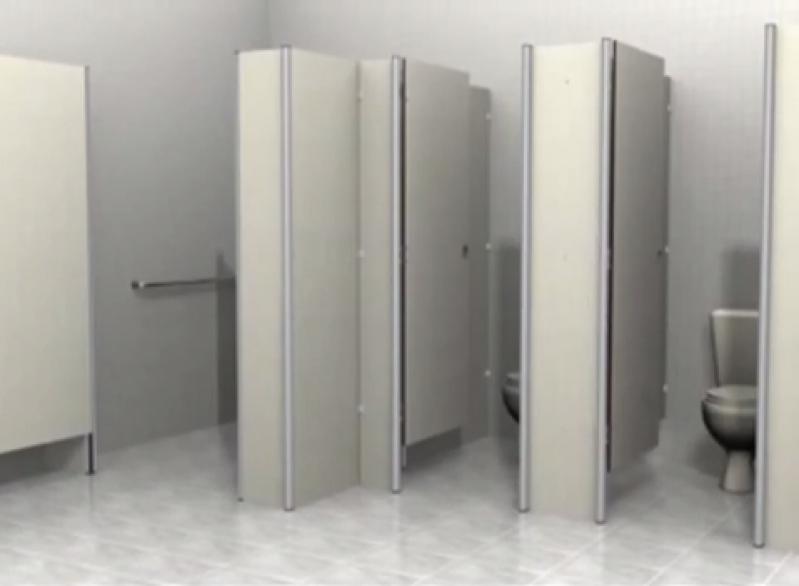 Fábrica de Porta de Banheiro Coletivo Santana de Parnaíba - Porta de Aluminio para Banheiro