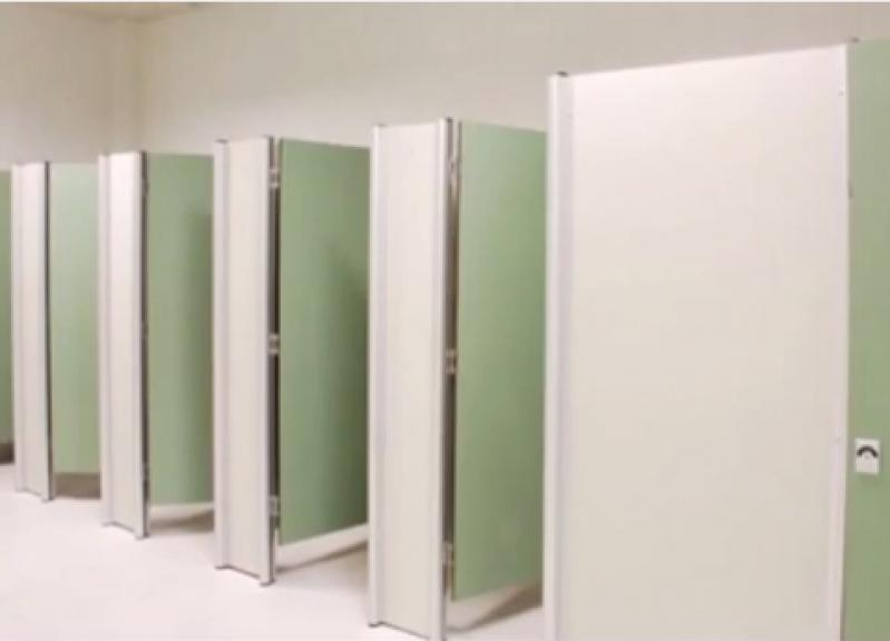 Fábrica de Porta para Banheiro de Empresas  Fazenda Morumbi - Porta de Aluminio para Banheiro
