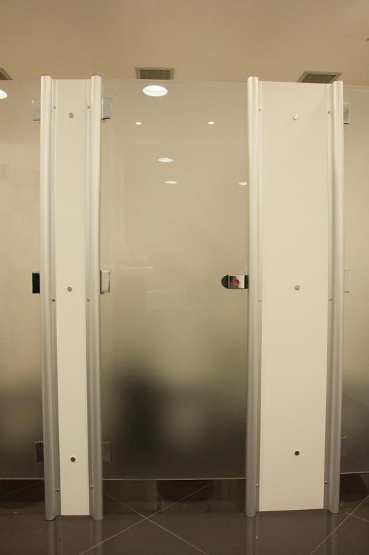 Fábrica de Porta para Banheiro Vila Jaraguá - Porta de Vidro para Banheiro