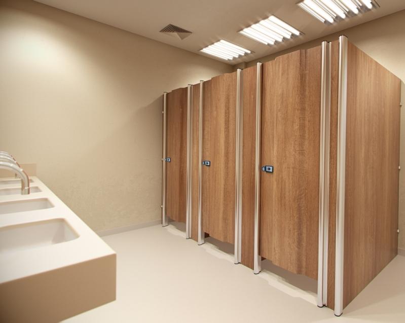 Laminado Estrutural Ts Divisoria Jardim das Acácias - Laminado Estrutural Ts Divisoria para Banheiros