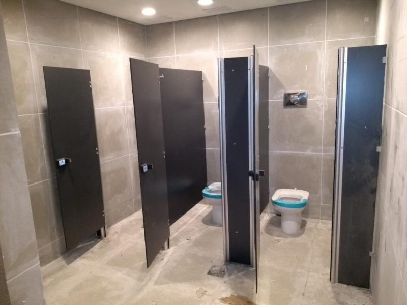 Laminados Estruturais Ts 10mm Ubatuba - Laminado Estrutural Ts Divisoria para Banheiros