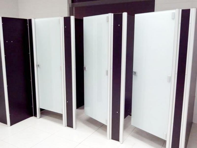 Porta de Banheiro Aluminio Guarujá - Porta de Vidro para Banheiro