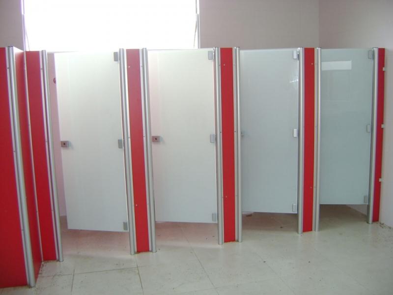 Porta de Sanitário Coletivo Bragança Paulista - Porta de Vidro para Banheiro