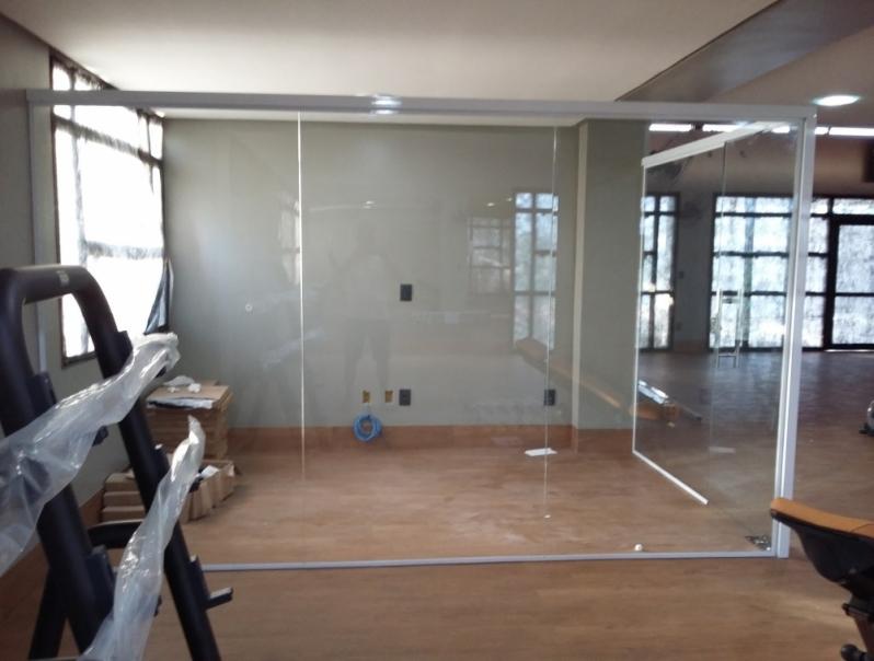 Serviço de Divisoria em Vidro Temperado Sorocaba - Divisoria em Vidro Temperado para Casas