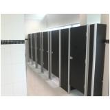 divisoria de banheiro coletivo Araçatuba