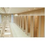 divisoria de banheiro de shopping valor Vila Marisa Mazzei
