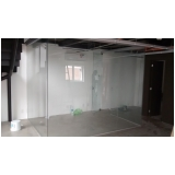 divisoria de vidro escritório á venda Chácara Inglesa