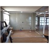 divisoria de vidro para escritórios valor Morumbi