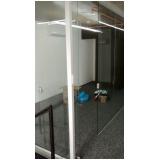 divisoria de vidro temperado escritório Itatiba
