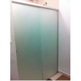 divisoria de vidro temperado para banheiro á venda Chácara Inglesa
