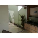 divisoria em vidro temperado para casas á venda Sorocaba