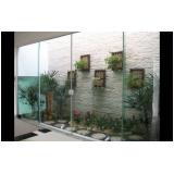 divisoria em vidro temperado Morumbi