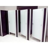 divisoria para banheiro de shopping Ribeirão Preto