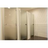divisoria para banheiro valor Chácara Inglesa