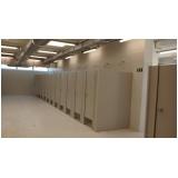 divisoria para banheiros coletivos Zona Oeste
