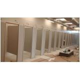 divisoria para sanitários valor Sacomã