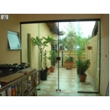 divisoria vidro temperado escritório Vila Progredior