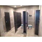 divisorias de banheiro Parque Anhembi
