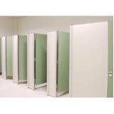 parede divisoria para banheiro