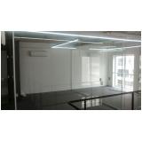 divisorias de vidro escritório Tucuruvi