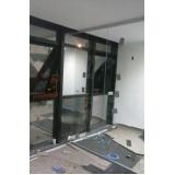 divisorias de vidro para sanitários Paulínia