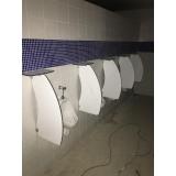 divisoria de banheiro coletivo