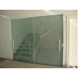 divisorias em vidro temperado para casas Jardim Morumbi