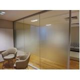 divisoria para escritório em alumínio e vidro