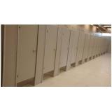 divisorias para sanitários Zona Sul