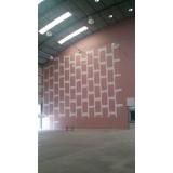 fábrica de parede divisoria de ambiente Grajau