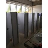 fabricante de divisoria de banheiro coletivo Marília