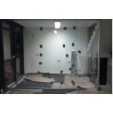 instalação de divisoria de vidro para sanitários Casa Verde