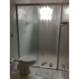 serviço de divisoria de vidro temperado para banheiro Mendonça