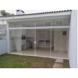 serviço de divisoria em vidro temperado para casas Imirim