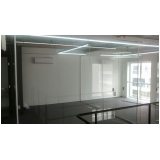 serviço de divisoria em vidro temperado para residências Barra Funda
